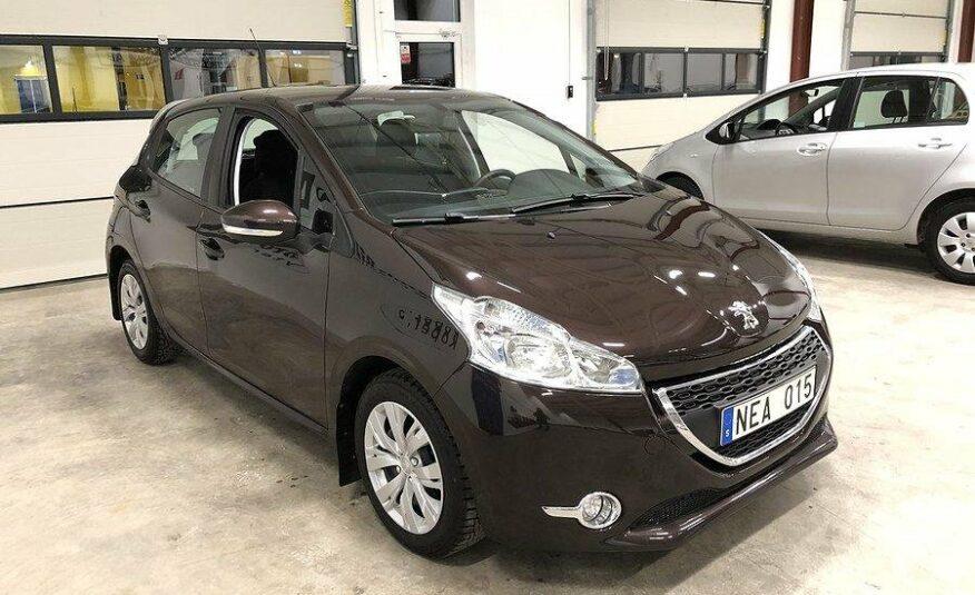 Peugeot 208 5-dörrar 1.2 VTi 82hk -13